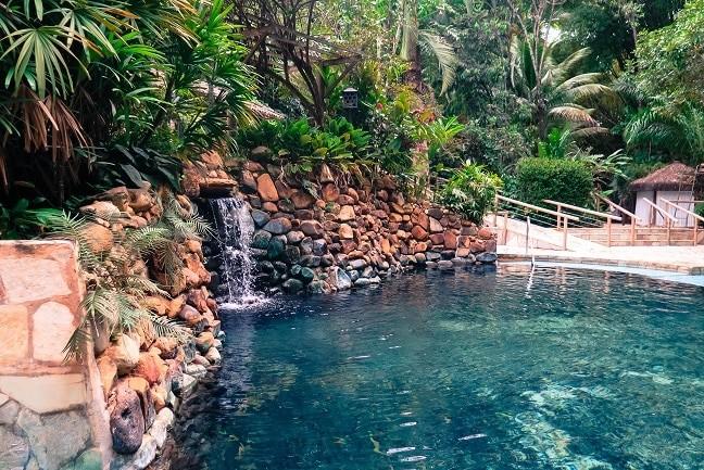 Hotel Jardim Primavera, em Caldas Novas.