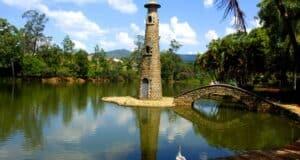O Parque Edmundo Zanoni é uma das atrações verdes de Atibaia - Miguel Schincariol/Divulgação