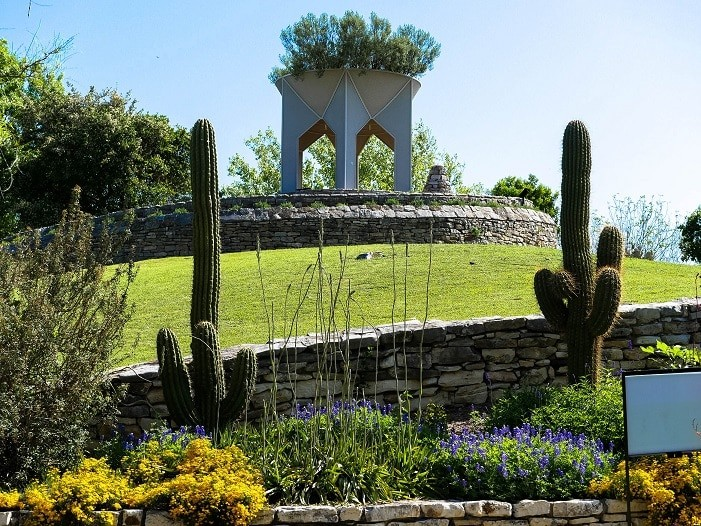 O Jardim Botânico, em San Antonio, é grande e bem cuidado.