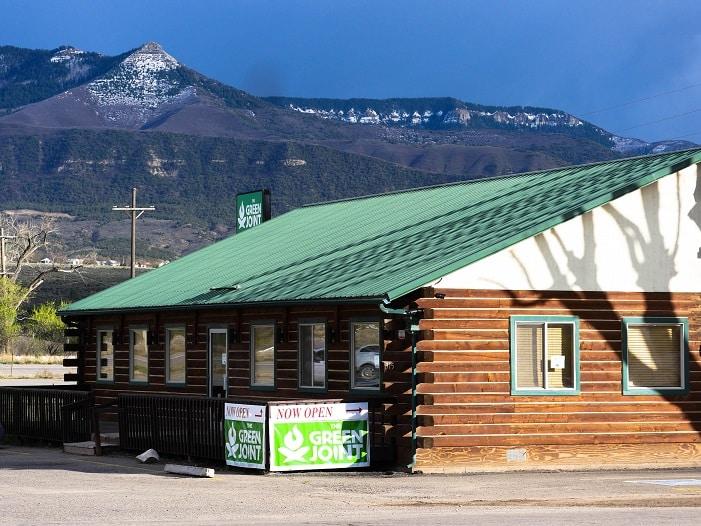 Loja que vende maconha no Colorado.