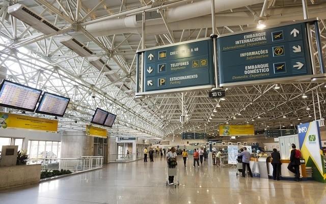 O aeroporto do Galeão recebe 40 mil passageiros por dia