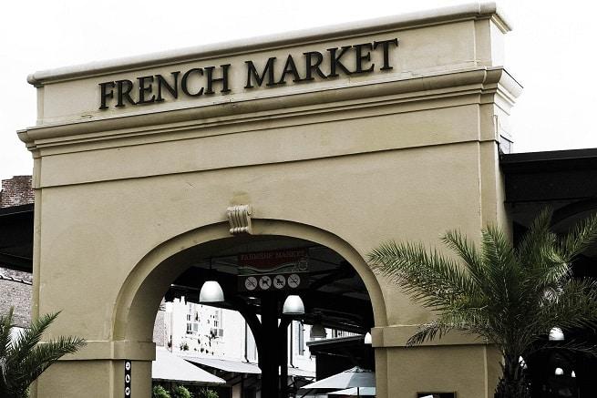 French Market, em New Orleans, um passeio legal e gostoso