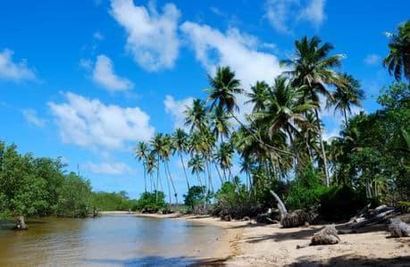 melhores praias brasil morro de sao paulo