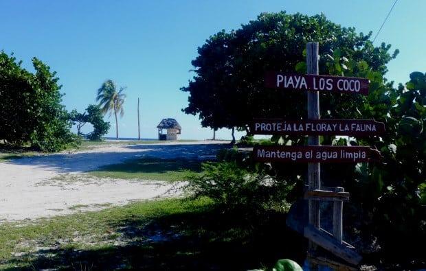 Playa Giron, na Baía dos Porcos, é um bom ponto para mergulhar em Cuba
