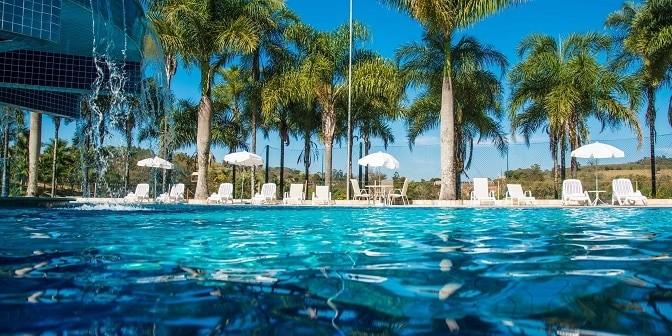 Resort Oscarin, em Águas de Lindóia