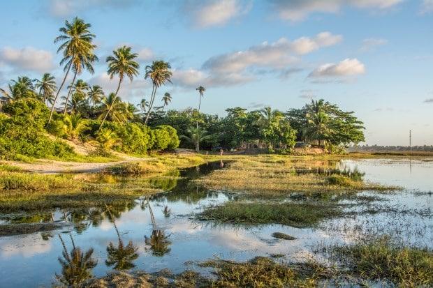 Arembepe: uma vila hippie entre o mar da Bahia e lagoas