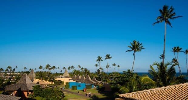 O  hotel Vila Galé Marés é um resort all inclusive em Guarajuba, perto da praia do Forte - Divulgação