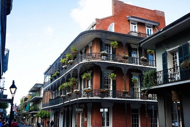 Bourbon Street, em New Orleans | Foto: Muita Viagem
