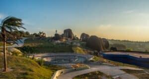 O Pico das Cabras tem boas estrutura para passeios turísticos, trilhas e rapel em Campinas