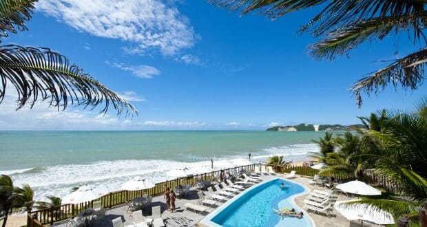 O Rifoles Hotel e Resort é uma boa opção de onde ficar em Natal-RN - foto: Divulgação