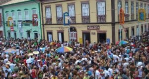 Carnaval de rua em Paraintinga, interior de SP - foto: Divulgação