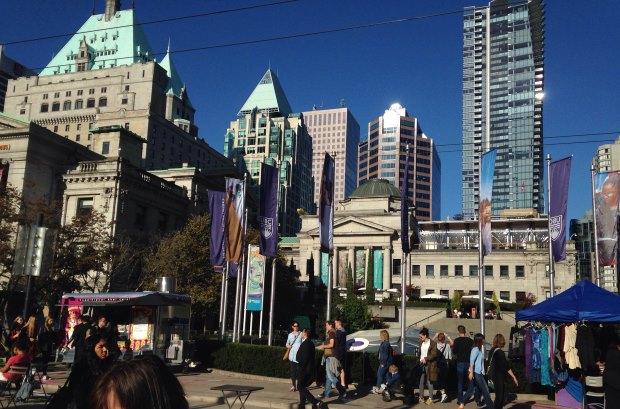 Vale a pena andar a pé ou de bicicleta por Vancouver