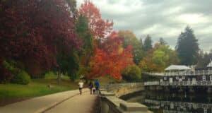 O Stanley Park é um lindo parque que vale a pena colocar no roteiro em Vancouver