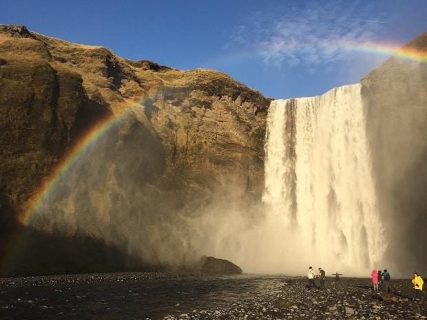As paisagens da Islândia surpreendem