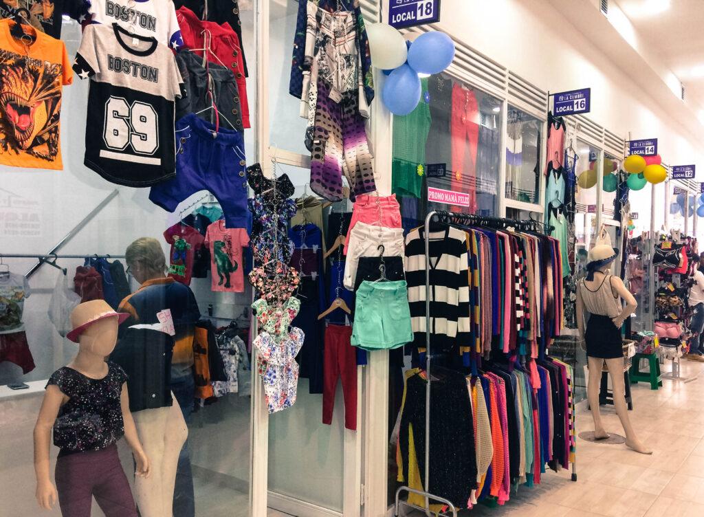 lojas roupas Argentina