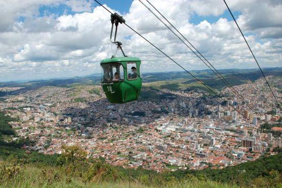 O sul mineiro tem cidades turísticas como Poços de Caldas, cheias de atrações para fazer