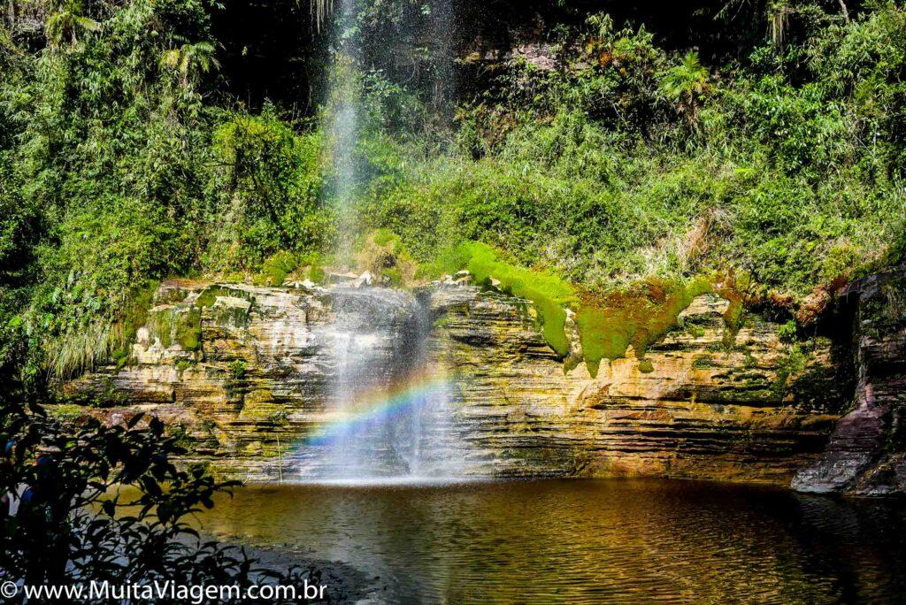 cachoeira arco íris
