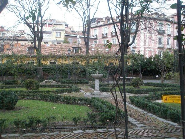 Plaza de Chamberí. Foto: Площадь Шамбери
