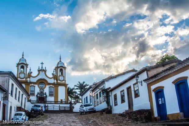Tiradentes é um dos melhores destinos para viagens baratas de lua de mel no Brasil