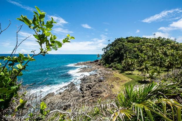 Vale a pena conhecer a Praianha, uma das mais bonitas praias do sul da Bahia