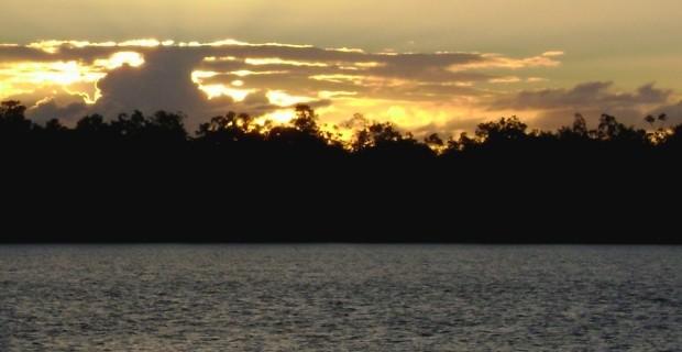 Ilha de Marajó - pôr do sol