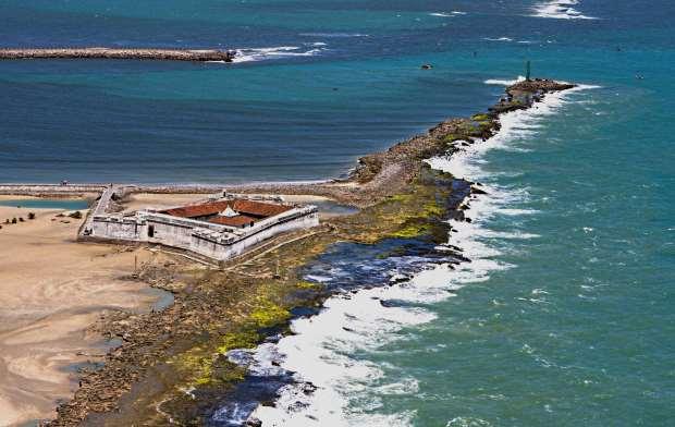 O forte dos Reis Magos é uma das principais atrações de Natal e marco zero da captial do Rio Grande do Norte