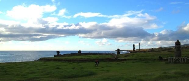 Os Moais são uma das atrações do turismo na Ilha de Páscoa