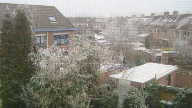 Na Holanda, neva no final do ano