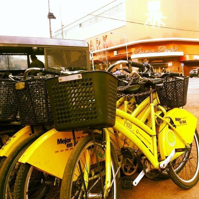 Bicicletas em Buenos Aires