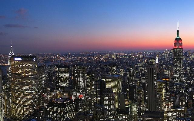 Rockefeller-Center-skyline
