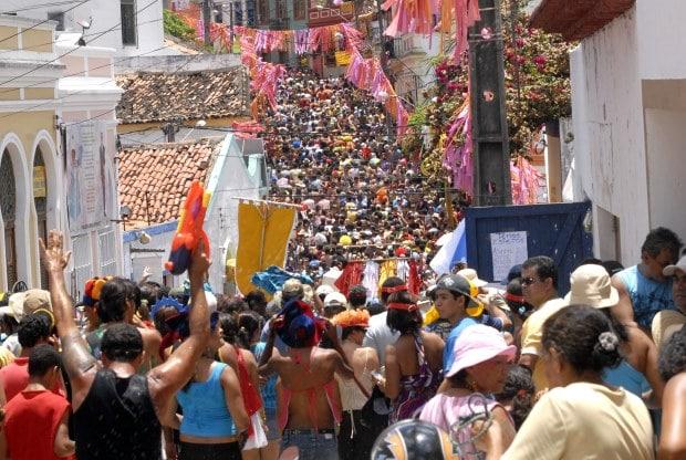 Olinda fica ainda mais colorida no Carnaval
