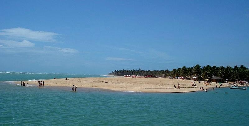 melhores praias do brasil gunga
