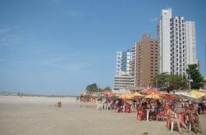 A praia da Ponta da Areia, em São Luís, não é lá essas coisas