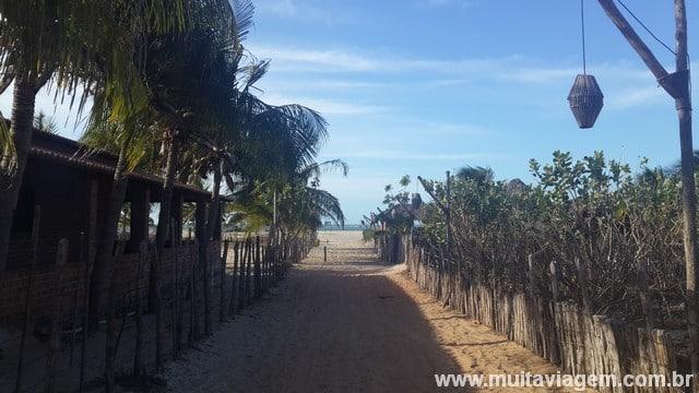 Barra Grande tem muita palha, areia e tranquilidade