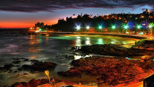 Praia da Ondina, em Salvador - foto: Divulgação