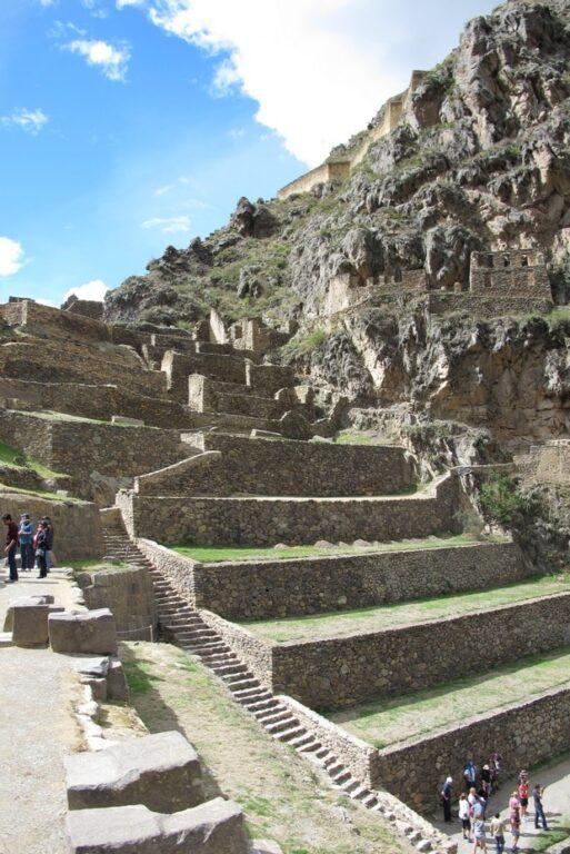 Ollantaytambo é um bom aquecimento antes de Machu Picchu