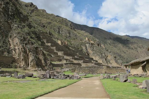 Ollantaytambo, no Vale Sagrado dos Incas