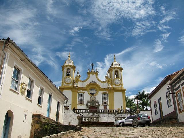 A Igreja Matriz de Santo Antônio em Tiradentes-MG