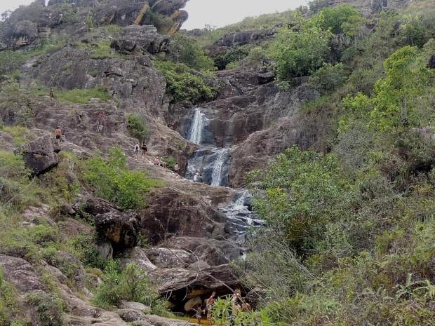 Uma das cachoeiras perto da cidade histórica de Tiradentes-MG