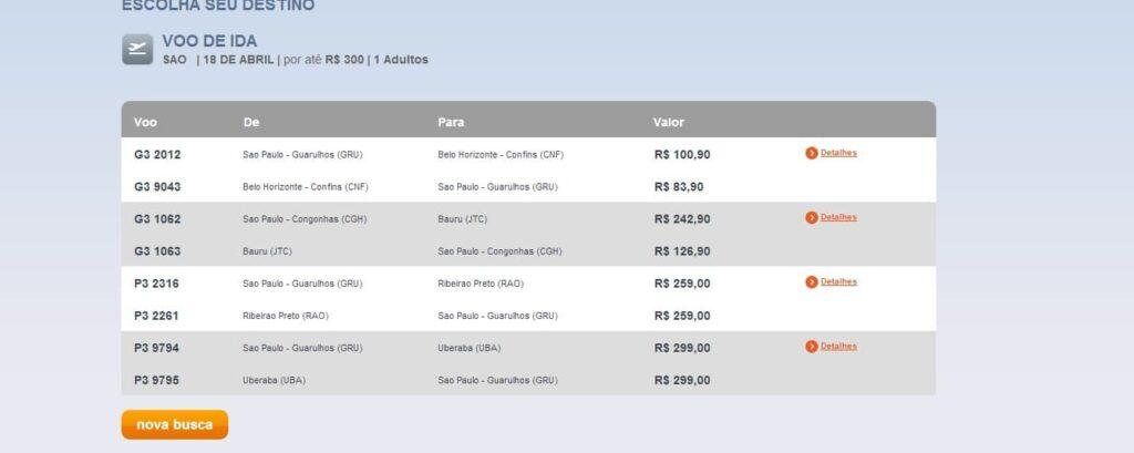 Opções de voos baratos na Semana Santa, Páscoa e Tiradentes