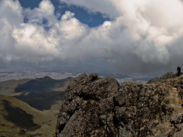 Na trilha do vulcão Pichincha, senti os efeitos da altitude de forma violenta