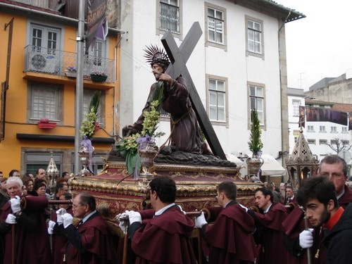 procissao dos passos pascoa braga portugal