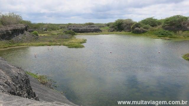 A lagoa dos flamingos: fácil chegar a pé, sem gastar nada