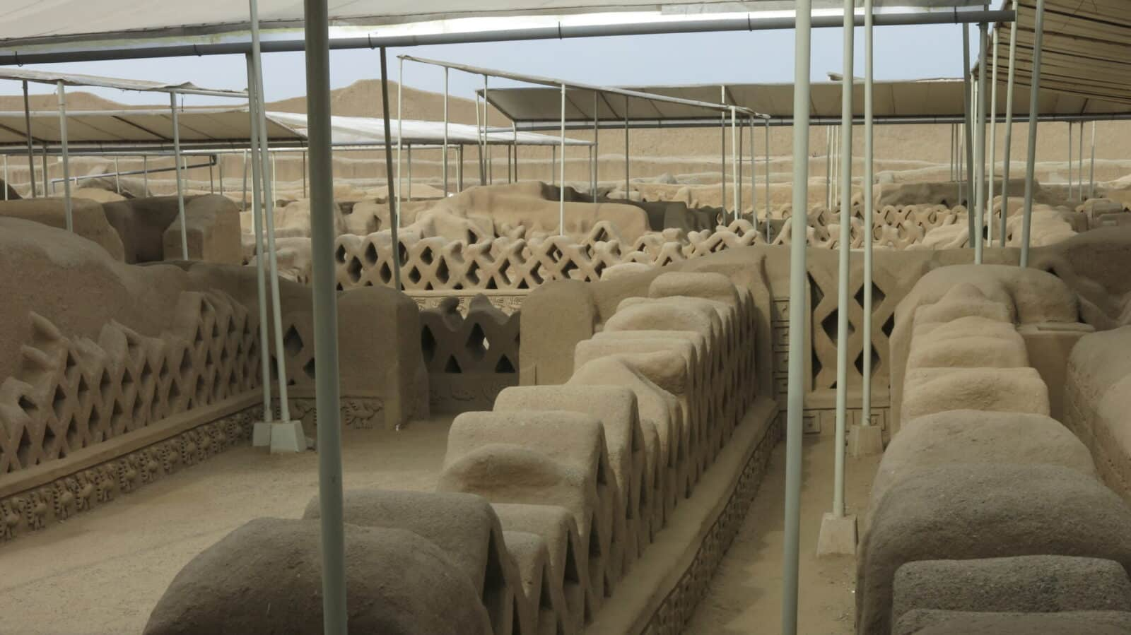 A guia ajudou a entender os detalhes de como funcionava a capital dos chimus no norte do Peru