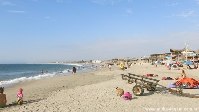 foto praia peru mochilao america sul 4