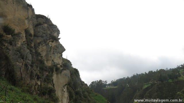 Foto da Face do Inca