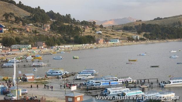 Copacabana é o principal destino turístico no Titicaca