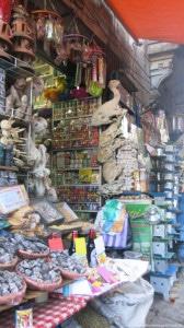 Barraquinha típica do Mercado de Brujas. Buuuu