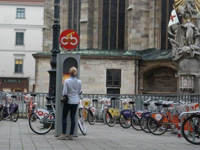 aluguel de bike viena