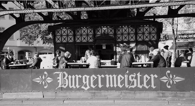 Hamburguer em Berlim